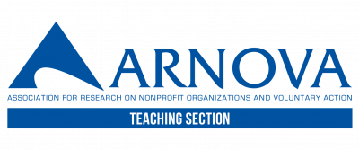 Association for Research on Nonprofit Organizations and Voluntary Action (ARNOVA) - Teaching Section logo