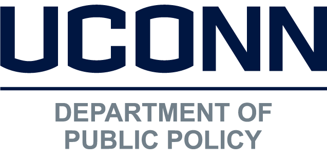 UConn Department of Public Policy logo